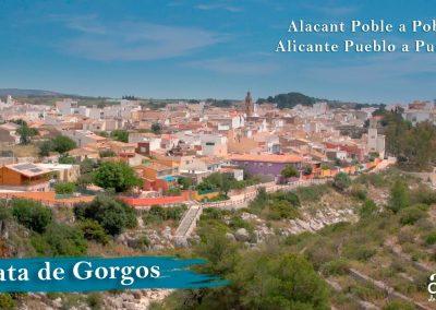 Gata de Gorgos. Alicante town by town